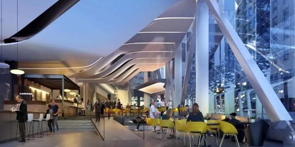 """赢得腾讯""""鹅岛""""的NBBJ又揭幕了世界上第一座""""反高层建筑"""""""