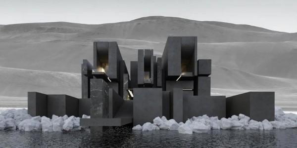 """经典设计都是""""黑色""""的,建筑也不另外"""