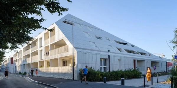 "MVRDV 试点项目建成:独有""庭院式""公寓 Ilot Queyries"